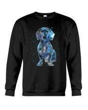 Dachshund Galaxy Crewneck Sweatshirt thumbnail