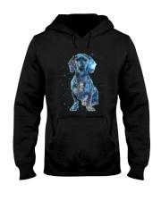 Dachshund Galaxy Hooded Sweatshirt thumbnail