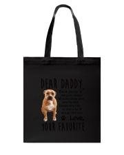 Daddy Pitbull Tote Bag thumbnail