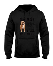 Daddy Pitbull Hooded Sweatshirt thumbnail