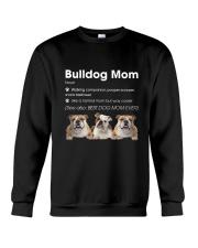 Mom Bulldog  Crewneck Sweatshirt thumbnail