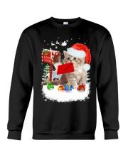 Cat Letter Crewneck Sweatshirt front