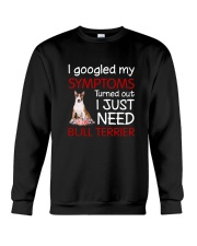 Bull Terrier Symptoms Crewneck Sweatshirt thumbnail