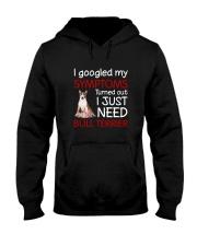 Bull Terrier Symptoms Hooded Sweatshirt thumbnail