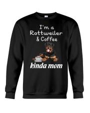 Rottweiler Kinda Mom Crewneck Sweatshirt thumbnail