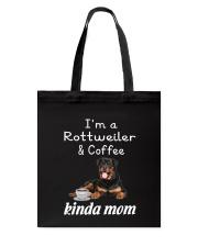 Rottweiler Kinda Mom Tote Bag thumbnail