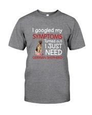 German Shepherd Symptoms Classic T-Shirt front