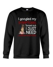 German Shepherd Symptoms Crewneck Sweatshirt thumbnail