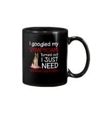 German Shepherd Symptoms Mug thumbnail