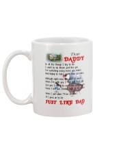 Dad Poem Mug Mug back