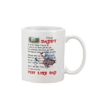 Dad Poem Mug Mug front