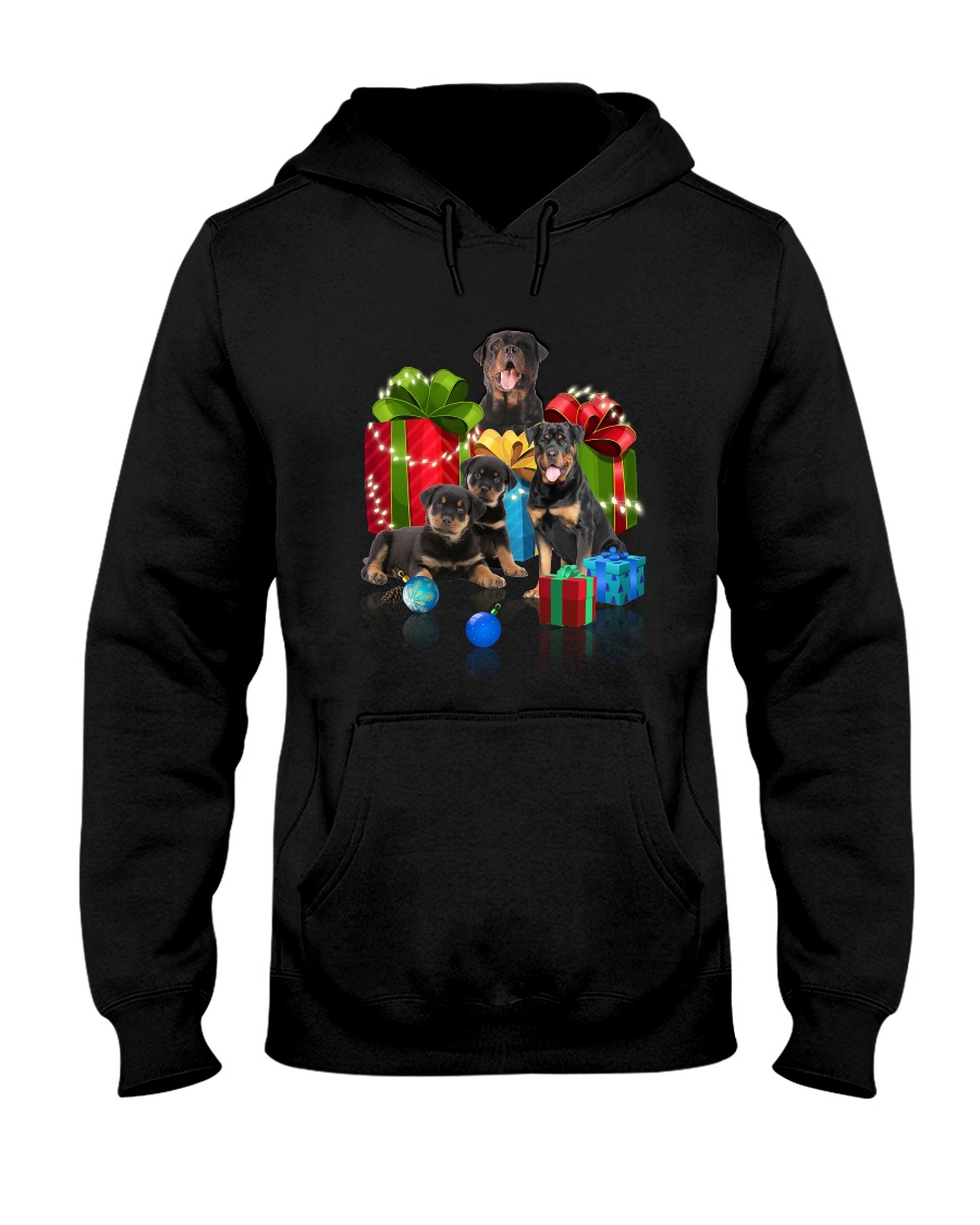 PHOEBE - Rottweiler Gift Christmas - 3110 - A19 Hooded Sweatshirt