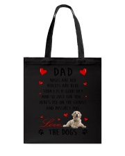 Dad Golden Retriever Tote Bag thumbnail
