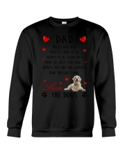 Dad Golden Retriever Crewneck Sweatshirt thumbnail