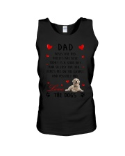 Dad Golden Retriever Unisex Tank thumbnail