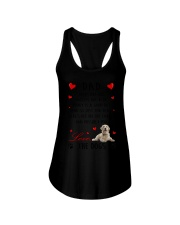 Dad Golden Retriever Ladies Flowy Tank thumbnail