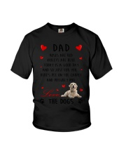 Dad Golden Retriever Youth T-Shirt thumbnail