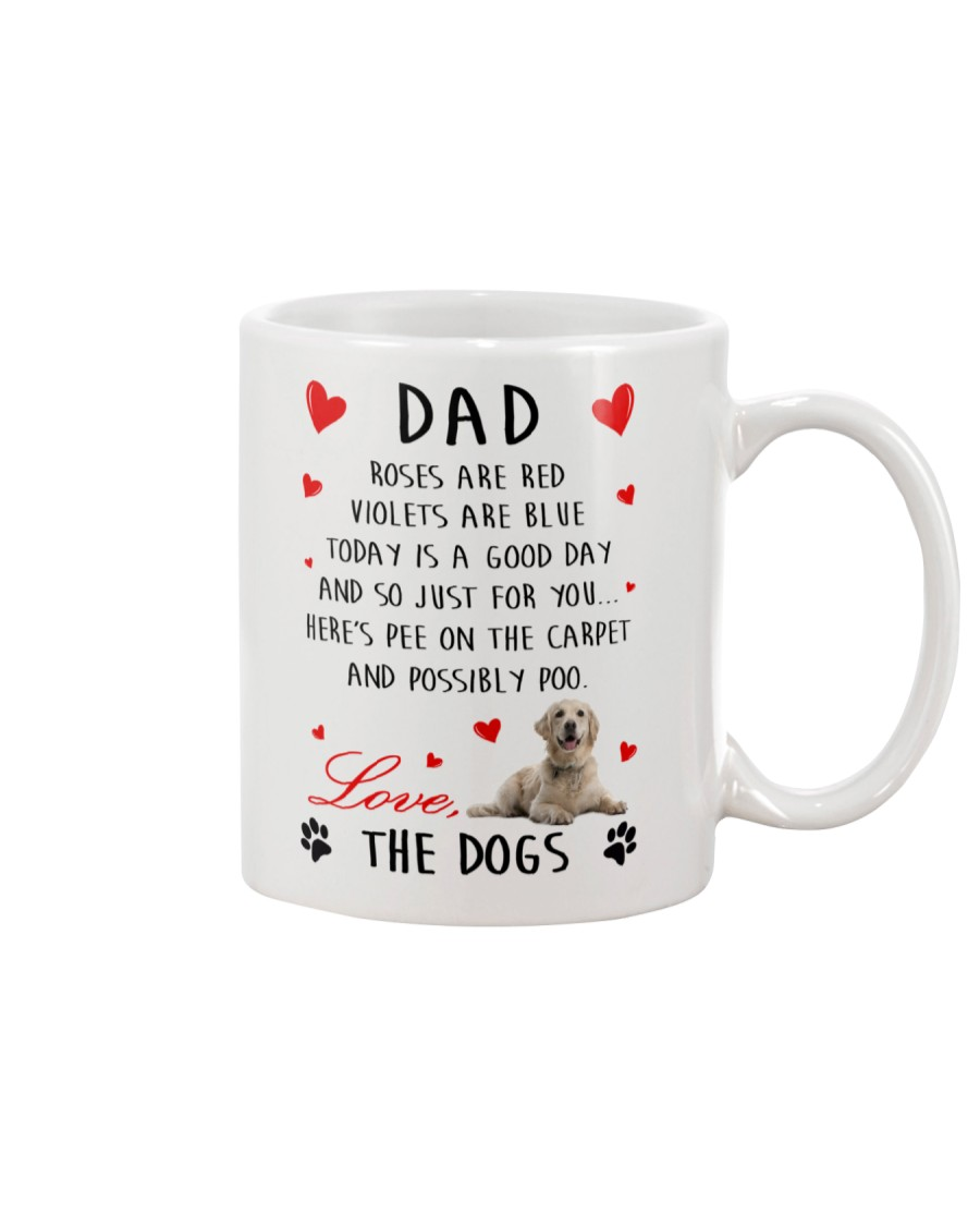 Dad Golden Retriever Mug