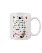 Dad Golden Retriever Mug front