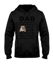 Dad Bulldog Hooded Sweatshirt thumbnail