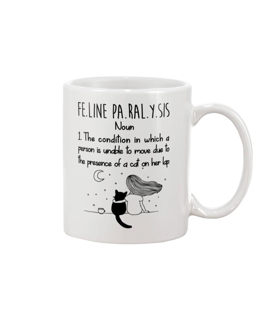 Cat Felineparalysis Mug