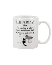 Cat Felineparalysis Mug front