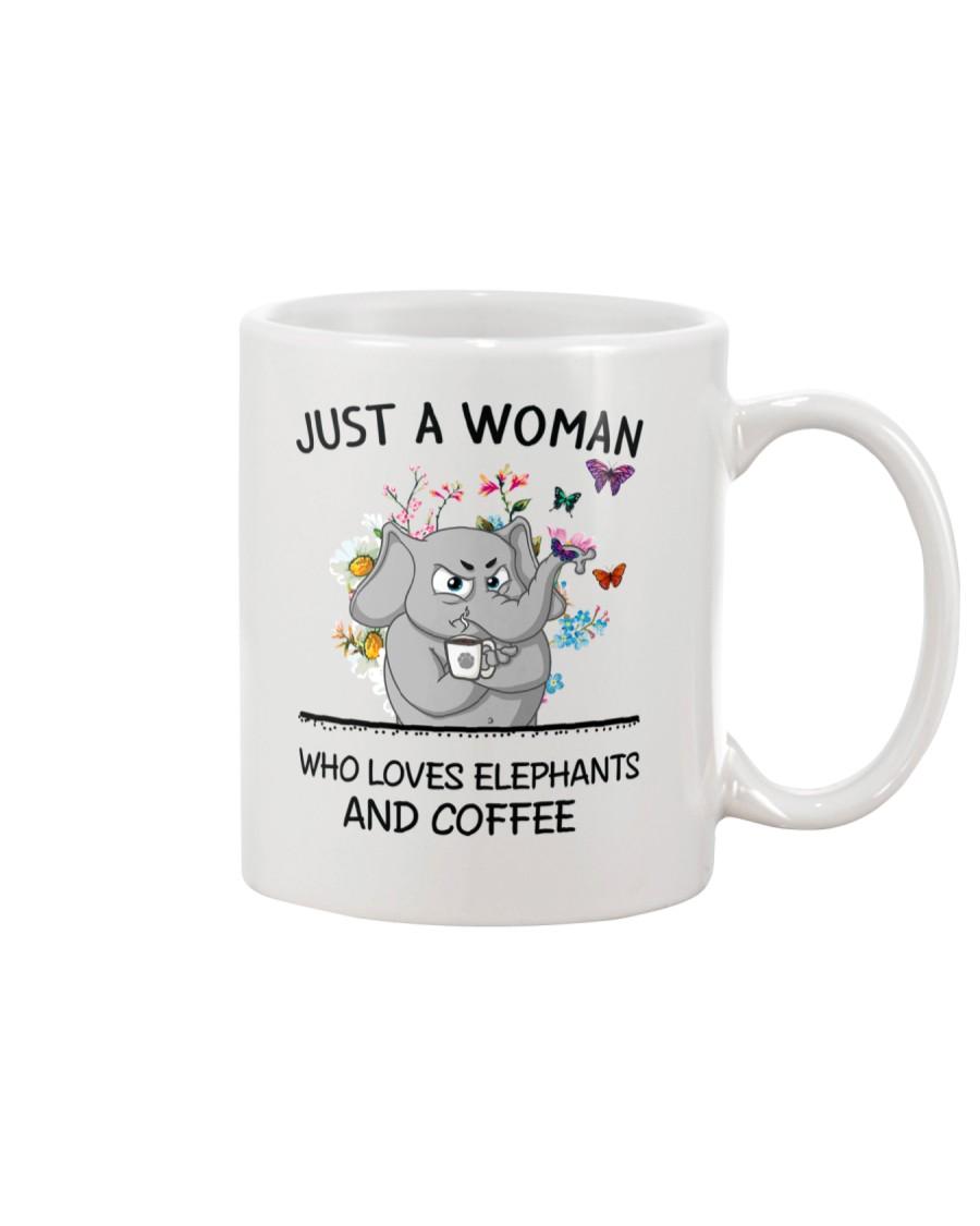 Coffee And Elephants Mug