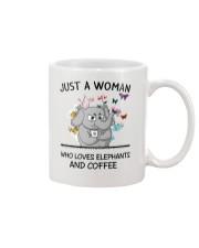 Coffee And Elephants Mug front