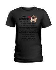 I Am Rescued Ladies T-Shirt thumbnail