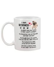 I Am Rescued Mug back