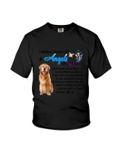 Golden Retriever Angels Youth T-Shirt thumbnail