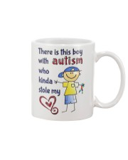 Autism Stole My Heart Mug front