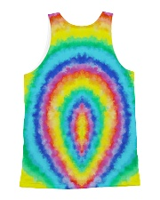 Cat Circle Color All-over Unisex Tank back