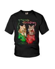 PHOEBE - Maine Coon Merry Xmas - 1310 - 93 Youth T-Shirt thumbnail