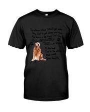Grooviest Dad Golden Retriever Classic T-Shirt thumbnail