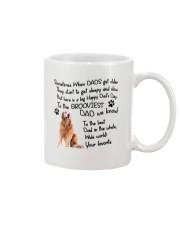 Grooviest Dad Golden Retriever Mug front