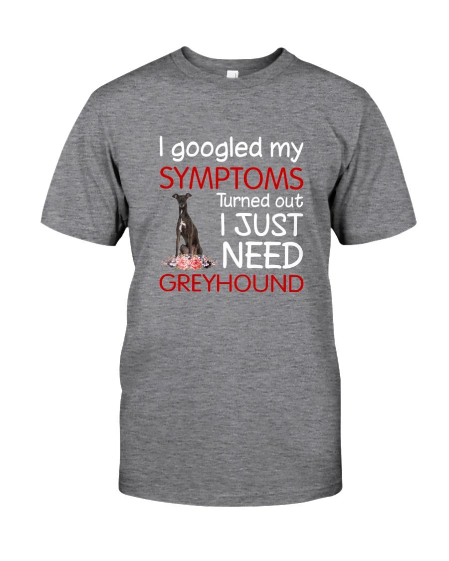 Greyhound Symptoms Classic T-Shirt