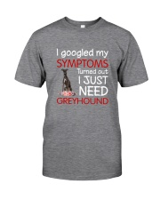 Greyhound Symptoms Classic T-Shirt front