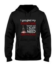 Greyhound Symptoms Hooded Sweatshirt thumbnail