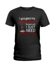 Greyhound Symptoms Ladies T-Shirt thumbnail