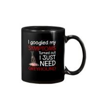 Greyhound Symptoms Mug thumbnail
