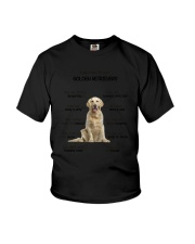 Reason To Love Golden Retriever Youth T-Shirt thumbnail