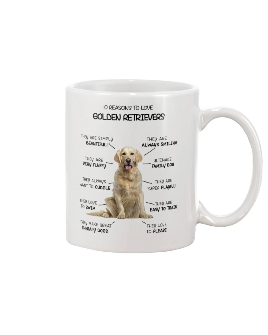 Reason To Love Golden Retriever Mug