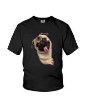 Hello Pug Youth T-Shirt thumbnail