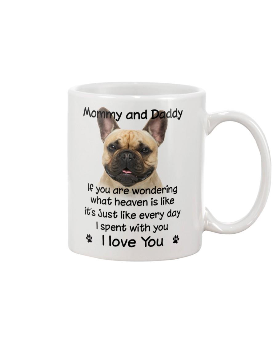 French Bulldog Mommy And Daddy Mug