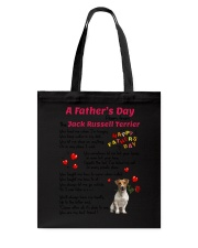 Poem From Jack Russell Terrier Tote Bag thumbnail