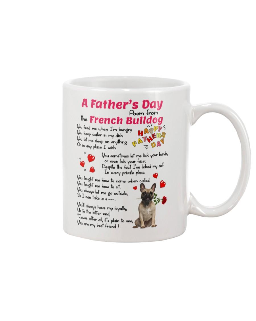 Poem From French Bulldog Mug