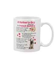 Poem From French Bulldog Mug front