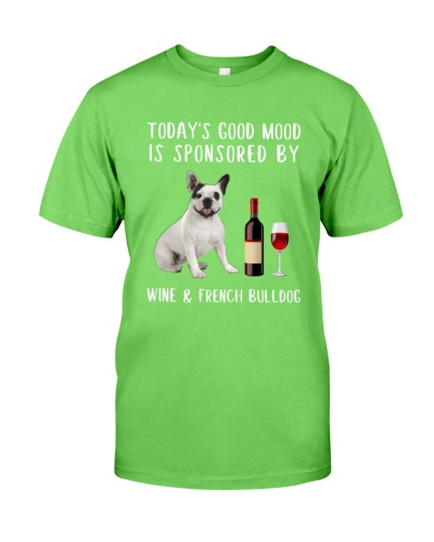 Good Mood Wine French Bulldog