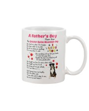 Poem From Greater Swiss Mountain Dog Mug front
